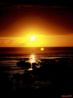 Sunset / Saint-Pierre / Reunion Island