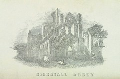 """British Library digitised image from page 5 of """"History of Kirkstall Abbey ... Third edition"""""""