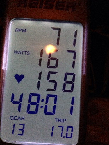 Wattage in spin
