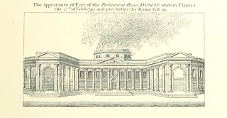 """Image taken from page 155 of 'An Account of the Parliament House, Dublin. With notices of Parliament held there, 1661-1800 ... Illustrated, etc. (New edition of a section of the same author's """"History of the City of Dublin."""")'"""