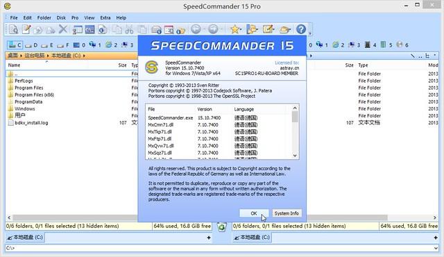 SpeedCommander 15 Pro