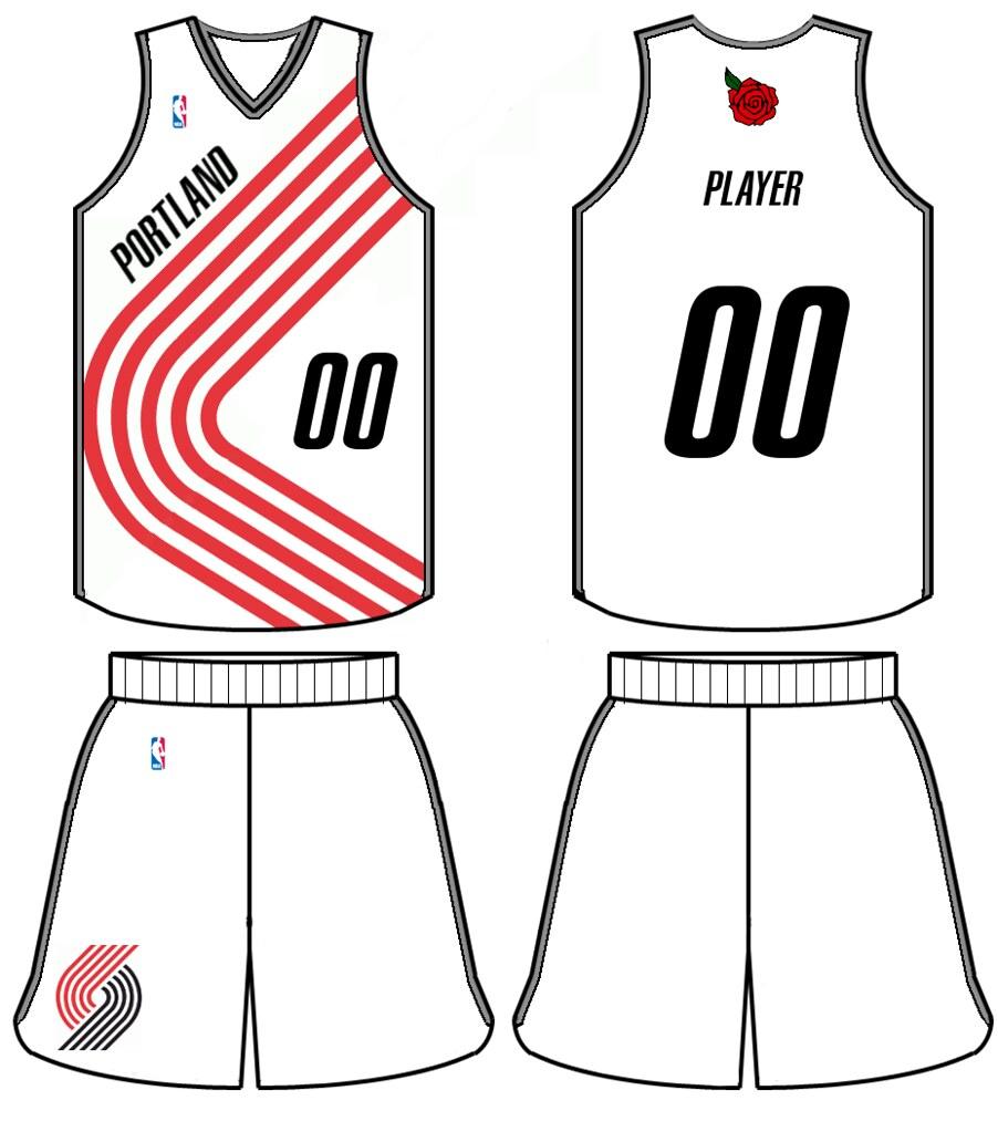 Portland Trail Blazers Jersey Design
