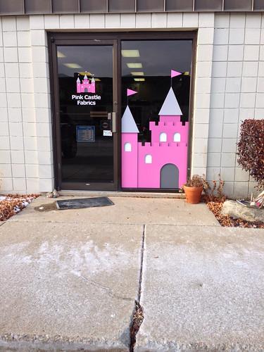 Pink Castle Fabrics IRL! Ann Arbor, MI