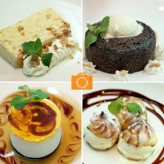 L'entrecote dessert collage
