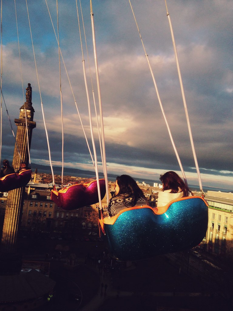 Edinburgh from the Star Flyer