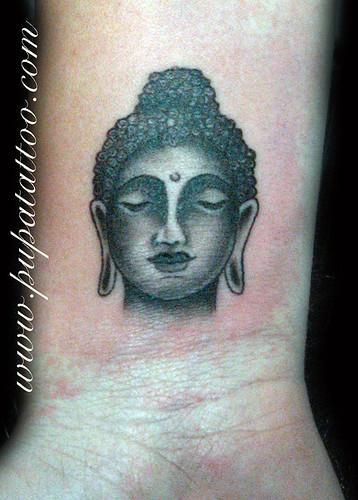 Tatuaje Buda, Pupa Tattoo Granada by Marzia PUPA Tattoo