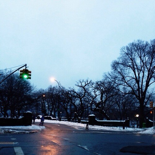 Oh, Central Park, you are so pretty at dusk. #latergram