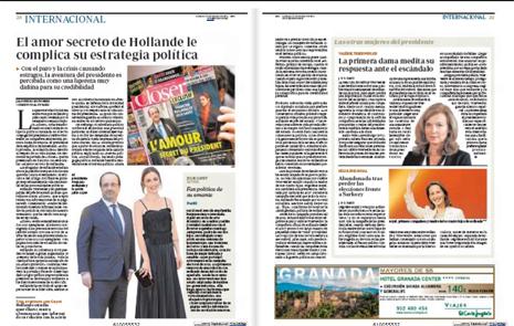14a11 Escándalo amor Hollande Julie Gayet