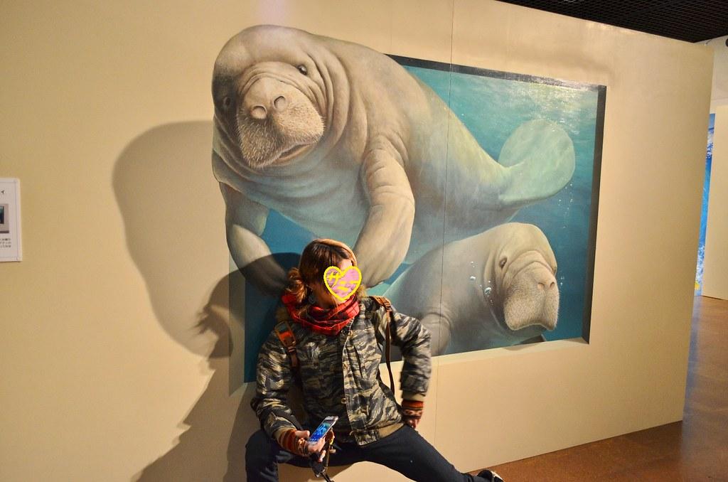 トリックアート展。 (3)-1