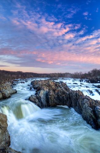 nature sunrise landscape va potomacriver waterscape 2014 greatfallswaterfalls dangirardphotography