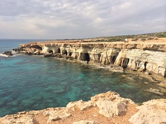 Cape Greco caves
