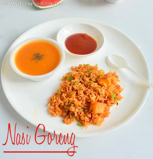 Nasi goreng recipe with tomato soup