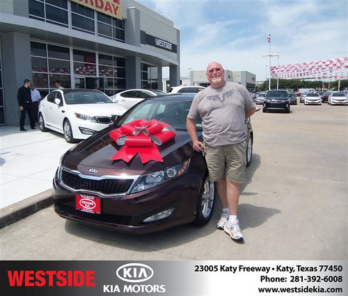 Happy Birthday to Russell L Koym from Gilbert Guzman  and everyone at Westside Kia! #BDay by Westside KIA