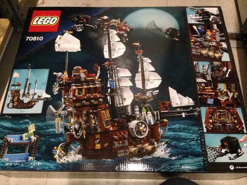 The Lego Movie Metalbeard S Sea Cow 70810 Back Box Image