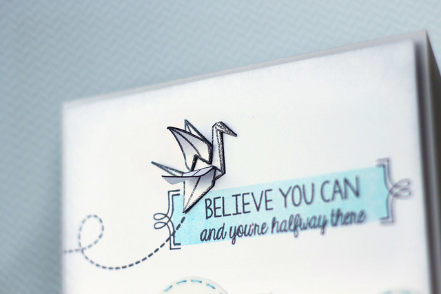 believe you can {mama elephant stamp highlight}