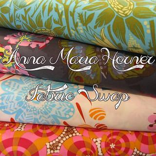 Anna Maria Horner - Fabric Swap