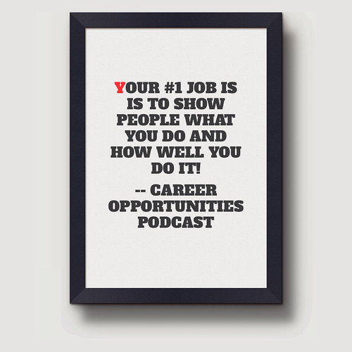 Your #1 Job...