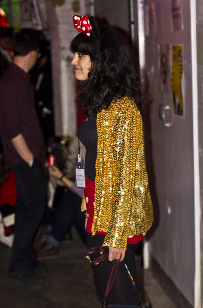sequinned gold jacket