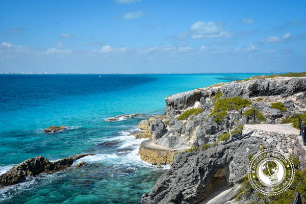 A Glimpse of the Island of Women at Isla Mujeres, Mexico - Cliff Walking Path