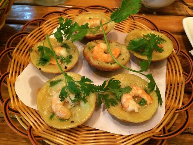 Vietnamese pancake with shrimp - Bamboo Garden