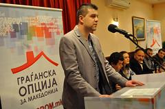Кликни за фотогалерија - Основачко собрание на ОО на ГРОМ – Струга