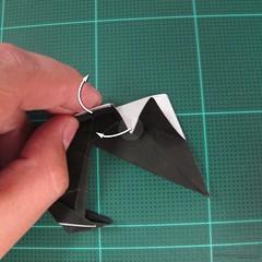 วิธีการพับกระดาษเป็นรูปจิงโจ้ (Origami Kangaroo) 029