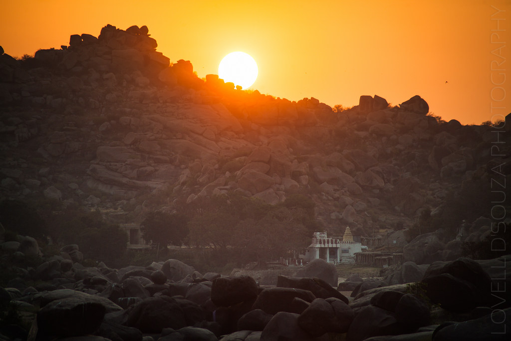 Sunrise at Hampi