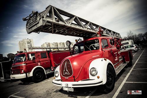 II Concentración de camiones Santander