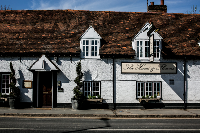 The Hand and Flowers, Marlow