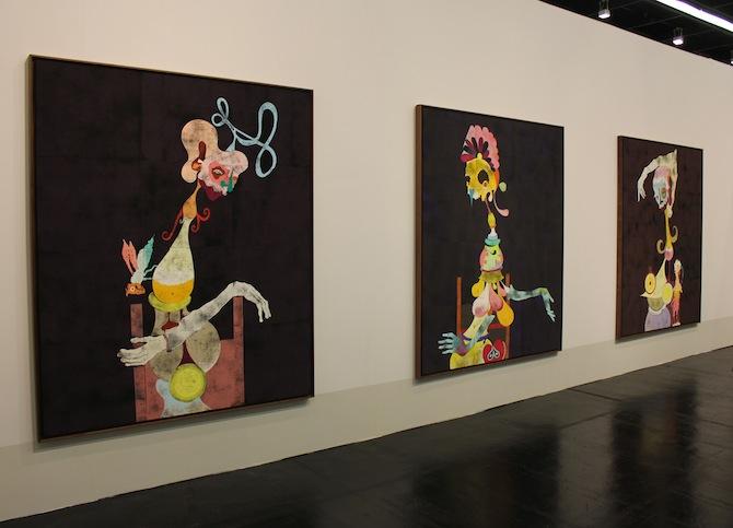 Gert und Uwe Tobias at booth Contemporary Fine Arts Berlin