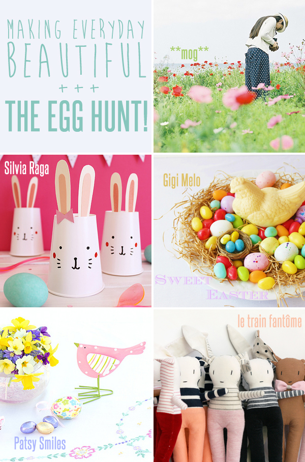 making everyday beautiful : the egg hunt! | Emma Lamb