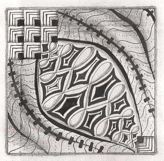 one zentangle a day day 10 a 14.04.14
