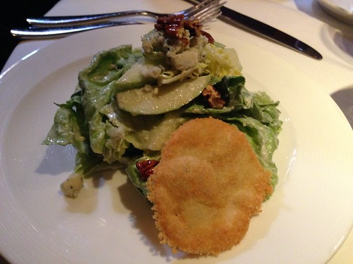 IMG_2601 Vivace's Butter lettuce with gorgonzola, apples and walnuts