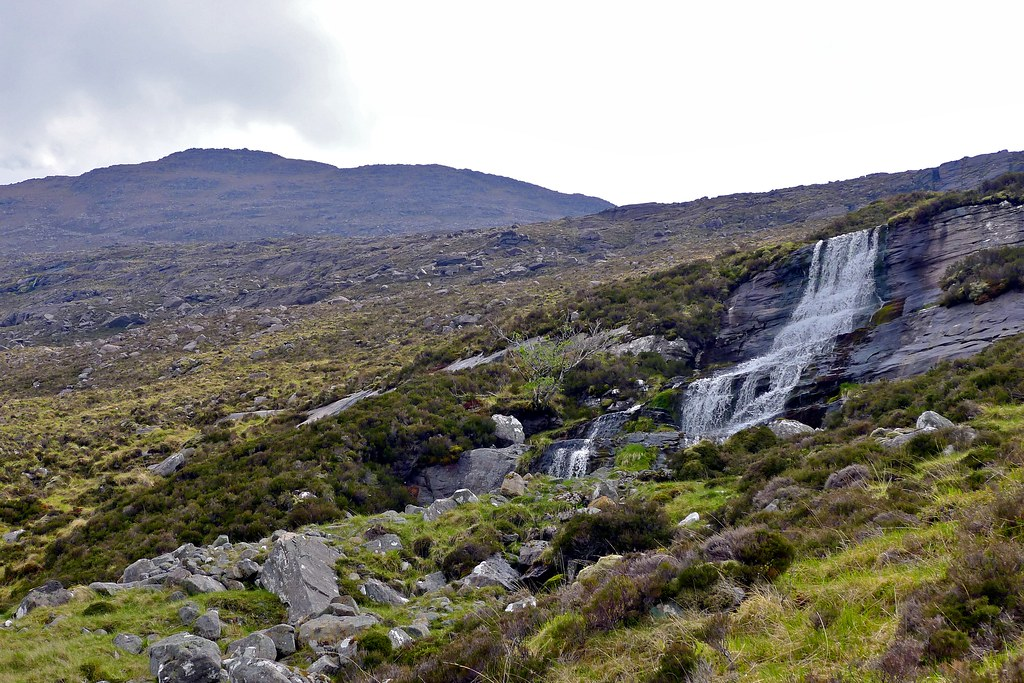Waterfalls on the Allt Loch a' Bhrisidh