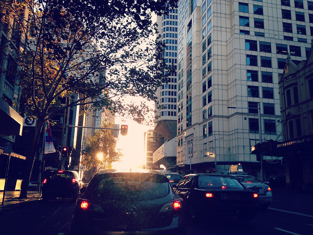 Sydney City Centre: Sunset