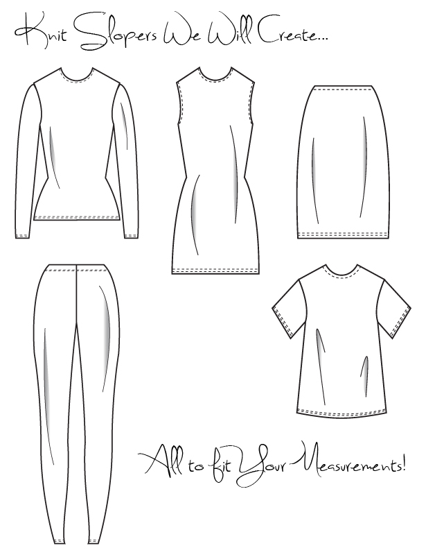 Develop Your Own Knit Slopers With Meg Sewing Blog Burdastyle