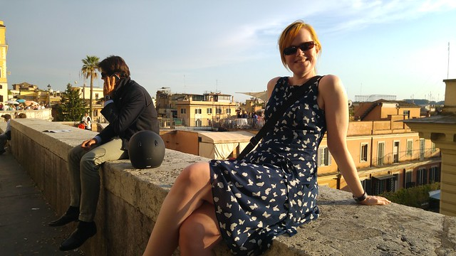 Over the roofs of rome
