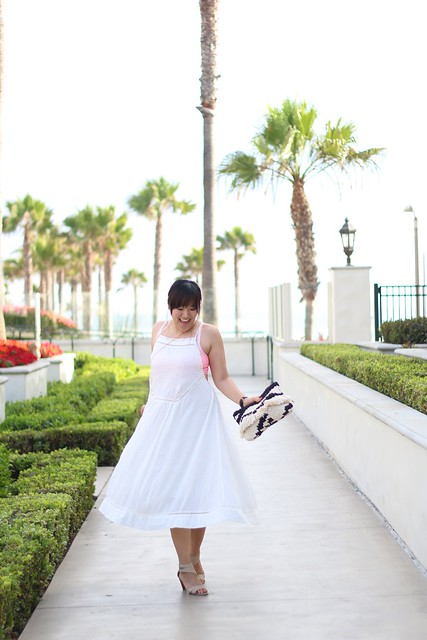 simplyxclassic, lulu's, white dress, little white dress, mango clutch, fashion blogger, mommy blogger, style blog