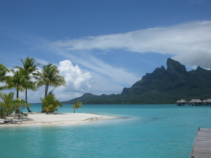 Bora-Bora-island islands around the globe