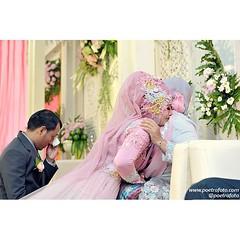 Sungkeman. From the wedding of Wulan & Ari at Bantul Yogyakarta. Wedding photo by @Poetrafoto, website http://wedding.poetrafoto.com 👍😊😍