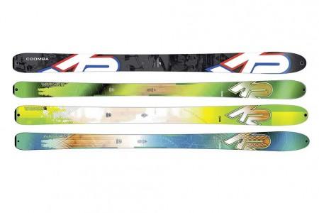 K2 skitour test