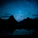 Milford Sound under Stars by Stuck in Customs