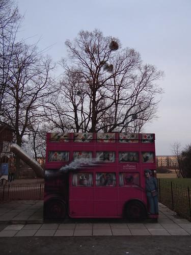 one Tour noch eine weitere Bus - Graffiti in Dresden Tolkewitz 00053