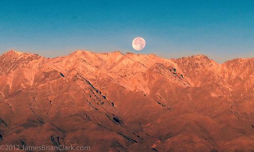 travel moon mountain snow afghanistan nature landscape dawn hill scenic peak full bagram