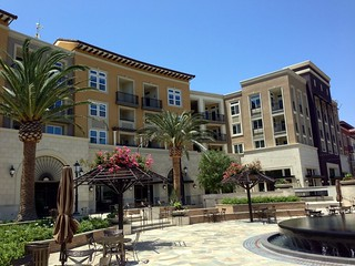 Sunrise Dental Center Bella Terra Apartments courtyard
