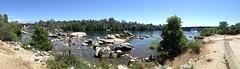 304/365 ~ Lake Natoma #folsom #americanriver #rocks #bridge #folsomstaterecreationarea