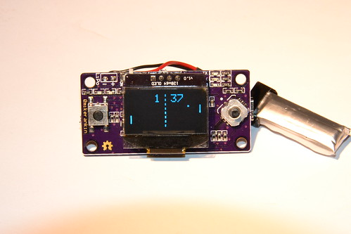 Sensor Board Main display Side Showing Ponglock