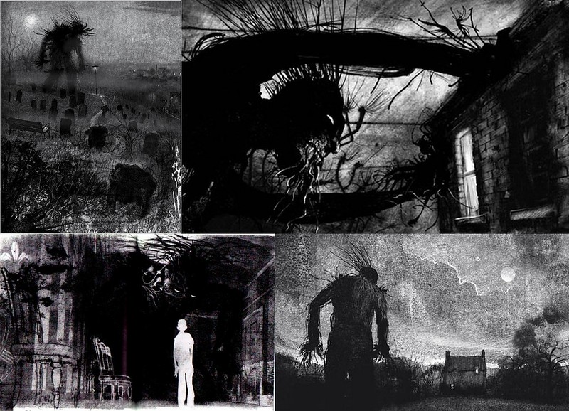 a monster calls illustrations