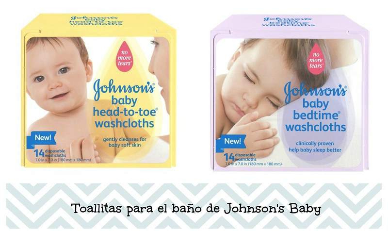 Johnson's Baby Washclothes