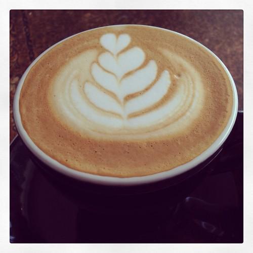 Latte at Penny University